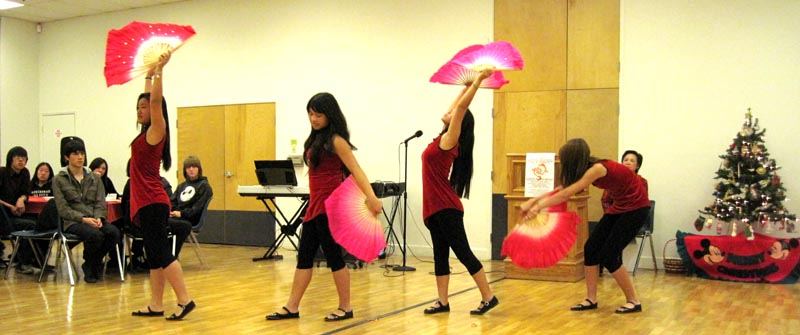 Our RECA Teen Dancers did their beautiful New Fan Dance.